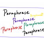 語学においてパラフレーズは大切。なぜなら、人生はパラフレーズだから。