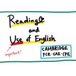 【ケンブリッジ英検FCE/CAE/CPE】リーディング(Reading and Use of English)内容とポイント